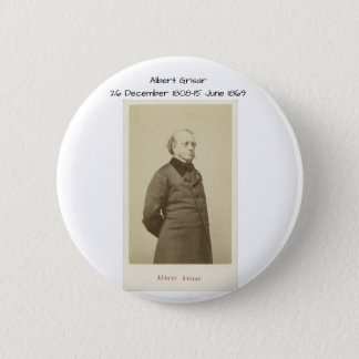 Albert Grisar 6 Cm Round Badge