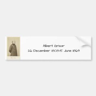 Albert Grisar Bumper Sticker