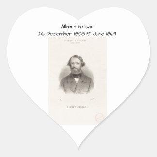 Albert Grisar Heart Sticker