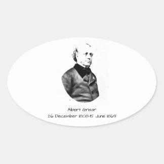 Albert Grisar Oval Sticker