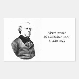 Albert Grisar Rectangular Sticker
