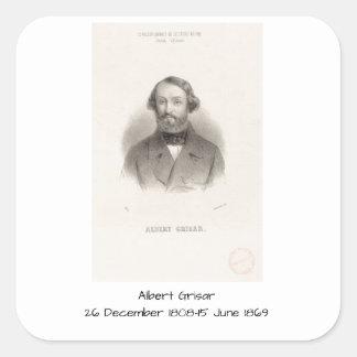 Albert Grisar Square Sticker