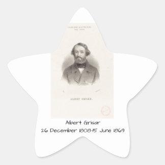 Albert Grisar Star Sticker
