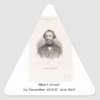 Albert Grisar Triangle Sticker