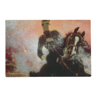 Albert I  King of Belgians in the First World Placemat