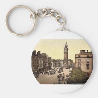 Albert Memorial. Belfast. Co. Antrim, Ireland rare Key Chain