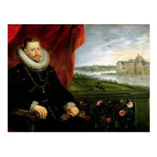 Albert of Habsbourg  Archduke of Austria Postcard