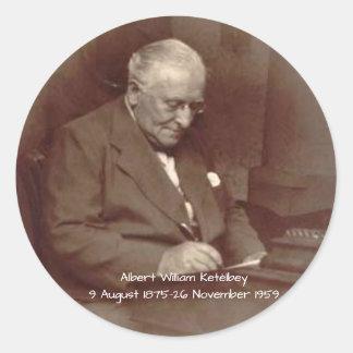 Albert William Ketelbey Classic Round Sticker