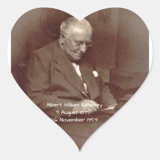 Albert William Ketelbey Heart Sticker