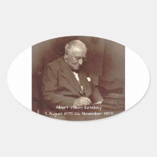 Albert William Ketelbey Oval Sticker