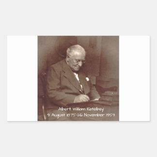Albert William Ketelbey Rectangular Sticker