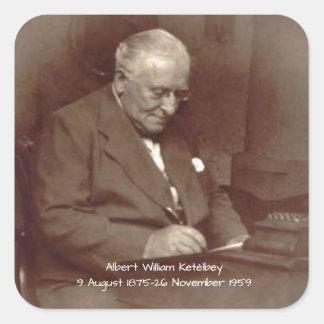 Albert William Ketelbey Square Sticker