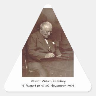 Albert William Ketelbey Triangle Sticker