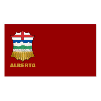 Alberta coat of arms pack of standard business cards
