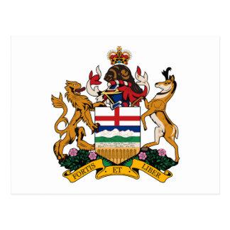 Alberta Coat of Arms Postcard