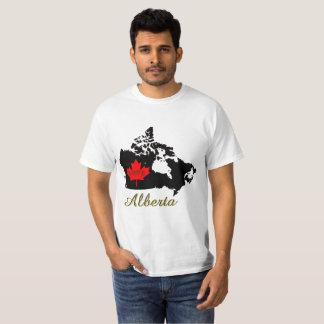 Alberta Customizable custom love Canada Province T-Shirt