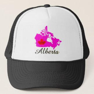 Alberta Customizable Love Province Canada hat