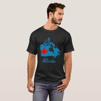 Alberta Customize  Canada Province blue T-Shirt