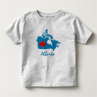Alberta Customize  Canada Province blue Toddler T-Shirt