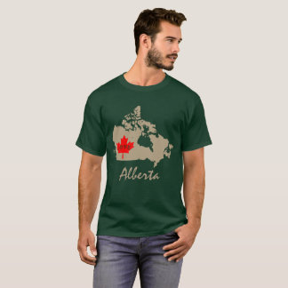 Alberta Customize  Canada Province T-Shirt