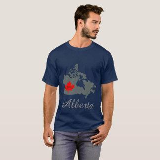 Alberta  Customize maternity Canada Province grey T-Shirt