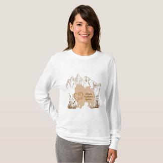 Alberta Keeshond Rescue Logo - Gold T-Shirt
