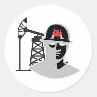Alberta Oil Classic Round Sticker