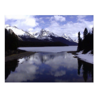 Alberta Rockies, Canada Postcard