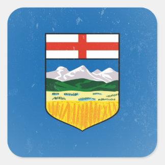 Alberta Square Sticker