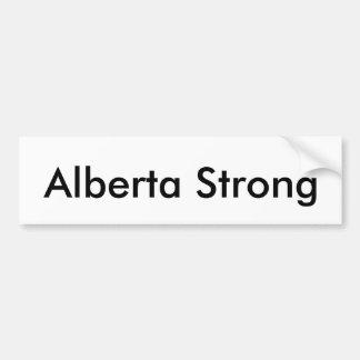 Alberta Strong Bumper Sticker