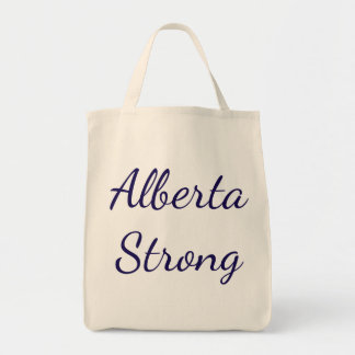 Alberta Strong Tote Grocery Tote Bag