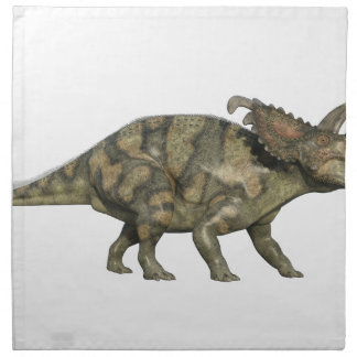 Albertaceratops Dinosaur in Side Profile Napkin