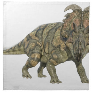 Albertaceratops Dinosaur Looking to the Front Napkin