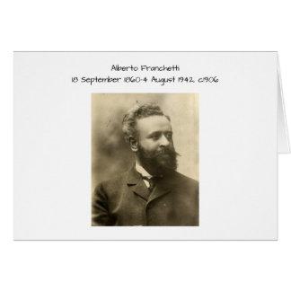 Alberto Franchetti c1906 Card