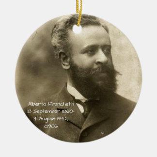 Alberto Franchetti c1906 Ceramic Ornament