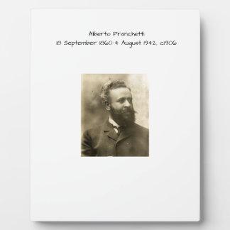 Alberto Franchetti c1906 Plaque