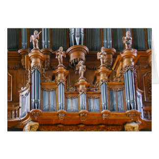 Albi Cathedral organ, France Card