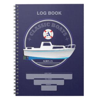 Albin 25 Log Notebook