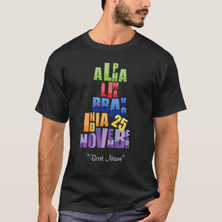 Albin 25 Phonetic Alphabet T-Shirt