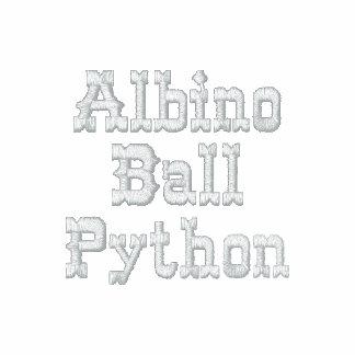 Albino Ball PythonClassic Sherpa-lined Zip Hoodie