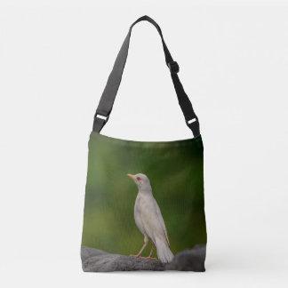 Albino Robin in Crown Point Crossbody Bag