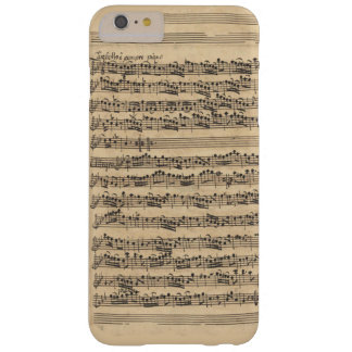 Albinoni Sinfonia Music Manuscript Barely There iPhone 6 Plus Case
