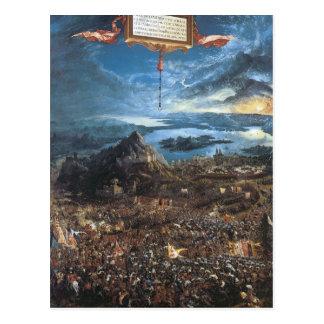 Albrecht Altdorfer The Battle of Alexander Postcard