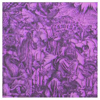 Albrecht Dürer Concord Purple Fabric