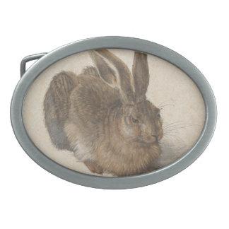 Albrecht Dürer - Hare Oval Belt Buckles