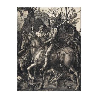 Albrecht Dürer Knight, Death and the Devil Canvas Print