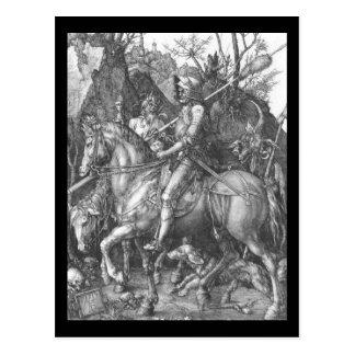 Albrecht Durer Knight Death and the Devil Postcard