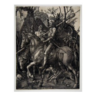 Albrecht Dürer Knight, Death and the Devil Poster