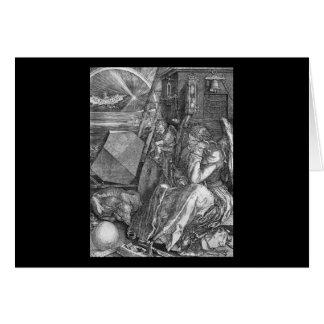Albrecht Durer Melencolia I Card