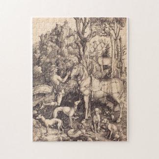 Albrecht Durer - Saint Eustace Jigsaw Puzzle